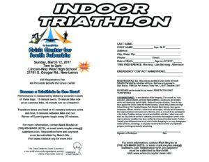 Indoor Triathlon 2017 Web Flyer