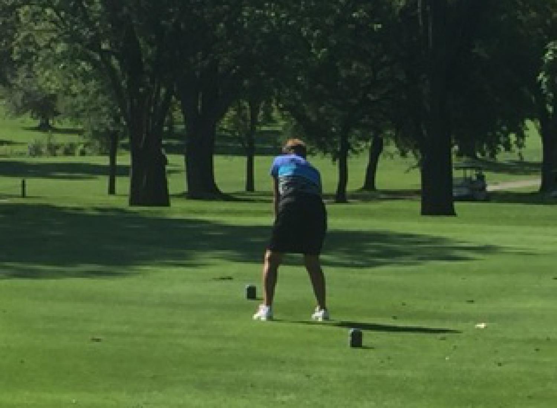 Golf shot 10