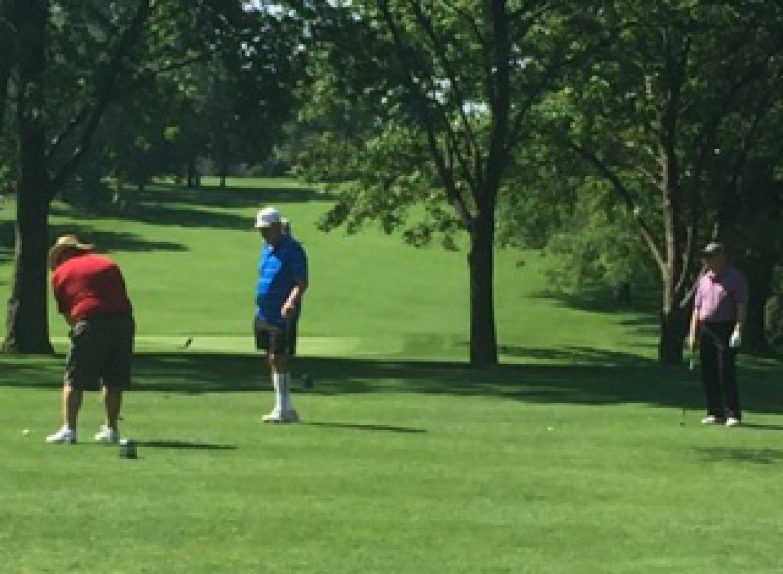Golf shot 17