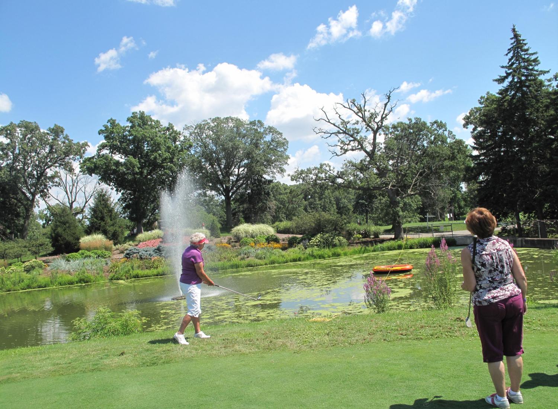 Golf shot 6