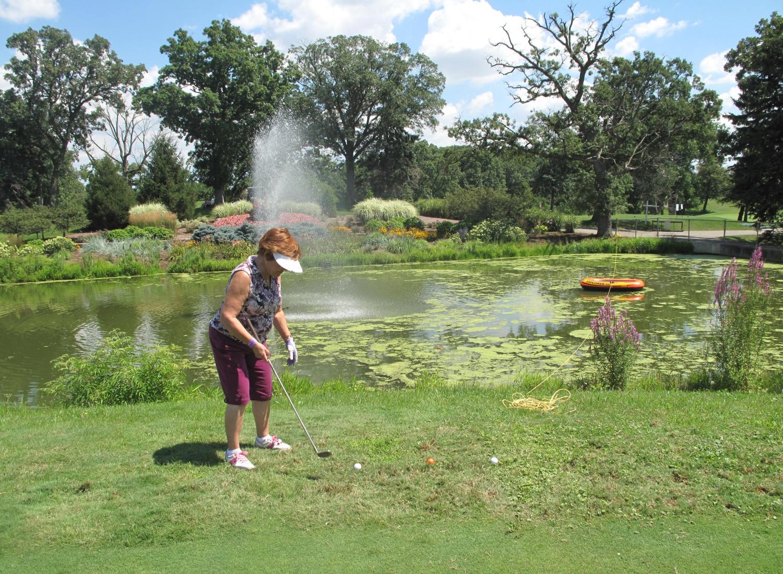 Golf shot 7